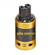 24K Gold-plated Audio Grade AC Power IEC C15R Receptacle
